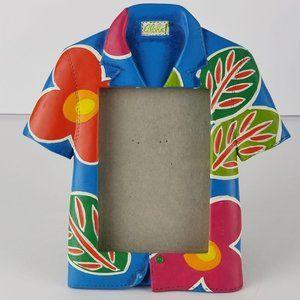 🌼VTG HAWAIIAN ALOHA FRAME《406》floral shirt